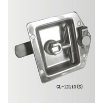 Flush Mount Key-Locking Lock T Handle Recessed Latche