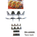 Stainless Steel Taco Holder Fits 3 Tacos