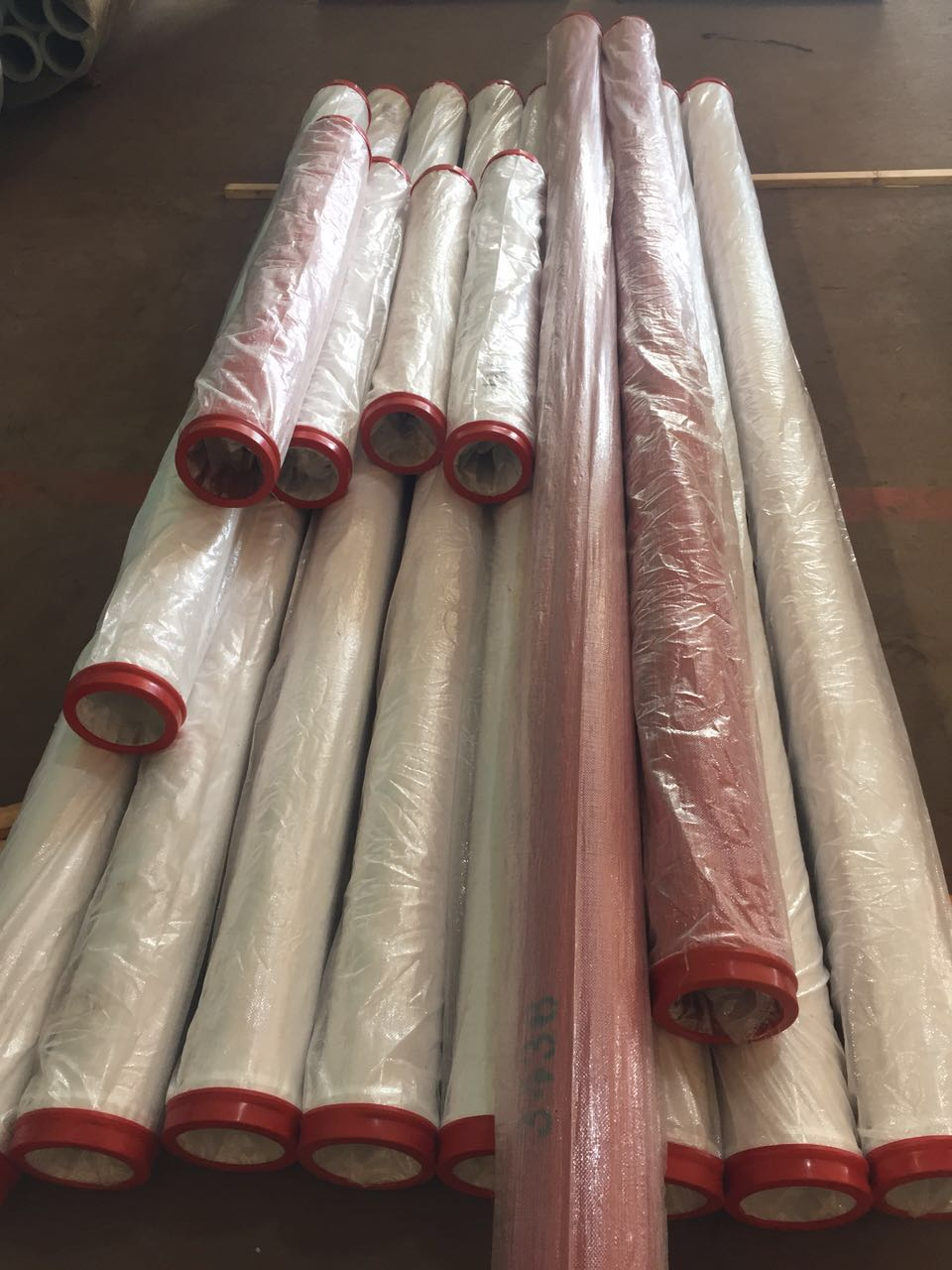 concrete pump double layer pipe