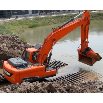 Excavator for River and Sand Excavation