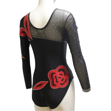 Озмуни Mesh Sleeve Dance Leotards