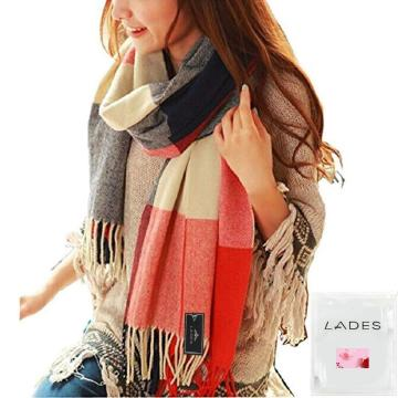 Good Quality for Winter Tartan Scarf LADES Women Tartan Scarf export to Angola Supplier
