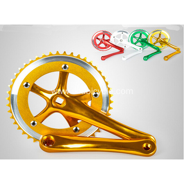 Many Colors Chainwheel and Crank