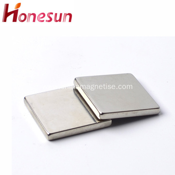 Neodymium NdFeB Block Nickel Coating Magnet