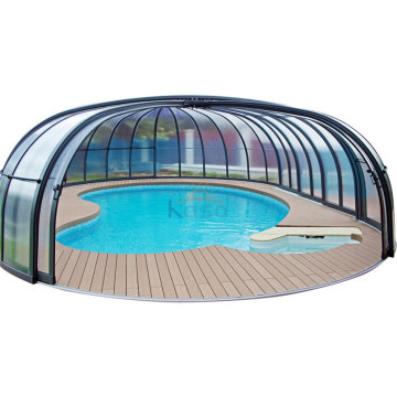 Swimming Cover Roller Foam Telescopic Pool Enclosure