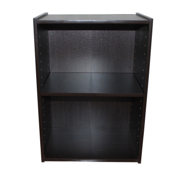 Modern industrial bookshelf industrial wooden display and storage bookshelf