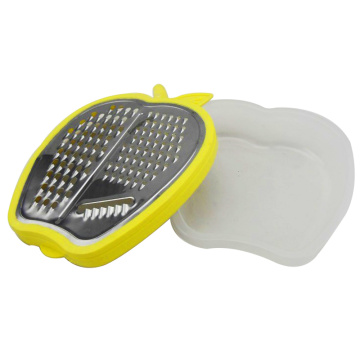 Hot Sale Kitchen Apple shape flat Vegetable Grater
