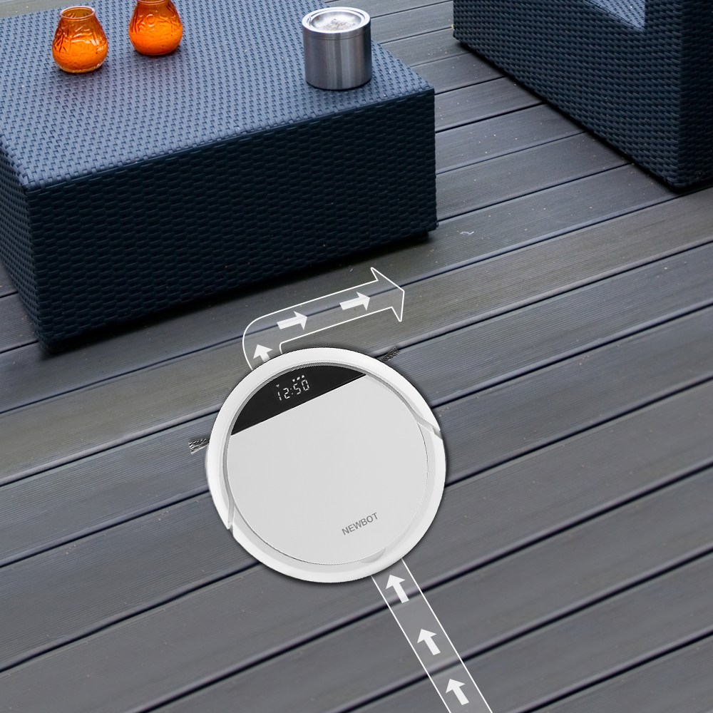 Mapping navigation robot vacuum cleaner