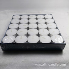 10g white dripless decoration tealight candle