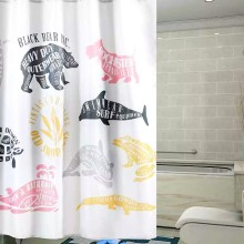 Shower Curtain Polyester Sea Animals