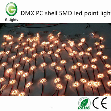 Factory Supplier for for Led Point Light Source DMX PC shell SMD led point light export to Russian Federation Factories