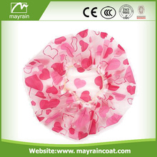 Disposable Transparent Shower Cap For Guest Hotel