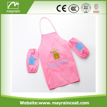 Children's Waterproof Painting Cooking Apron