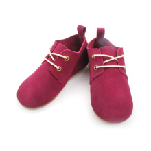 Kids Real Leather Rubber Sole Fancy Oxford Shoes