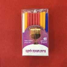 Factory directly for 3.8G Spiral Candle Strong Fire Chanukah Candles Decorated export to Liberia Importers