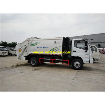 4000 Litres 102HP Garbage Collection Trucks