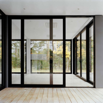 Lingyin Construction Materials Ltd Nice Style Best quality  aluminum sliding glass door