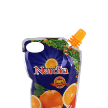 Portable Spout Pouch for Juice