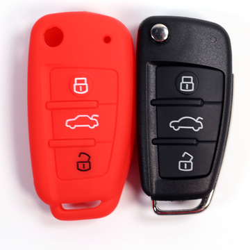 2019 3-knapps Audi Car Key Fob-lock