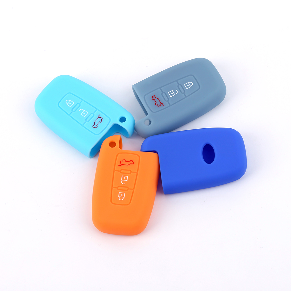 silicone Hyundai car key case