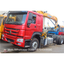 Hot sale Factory for Mini Crane Truck Diesel SQ5SK3Q Truck Mounted Crane supply to Romania Factories