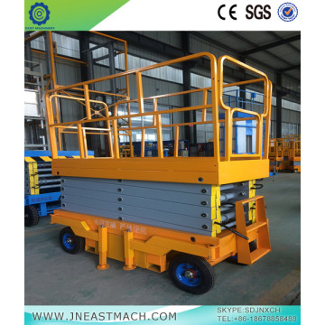 1.5t 6m Electric Powered Scissor Lift Platform
