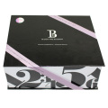 Foldable Custom Ribbon Cardboard Paper Box