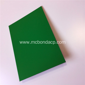MC Bond Silver Brushed Metal Plastic Composite Panel