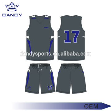 Simple Design Polyester Youth Basketball Jerseys