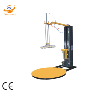 Top press plate Pallet Wrapping Machine