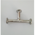 Sanitary Stainless Steel Clamp Equal Tee