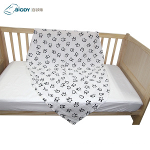 High Quality for Muslin Baby Blanket No Fluorescence Baby Swaddle Blanket Satin Trim supply to Indonesia Suppliers