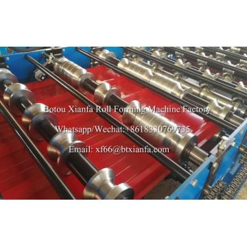 1220mm Raw Material Trapezoidal Sheet Roll Forming Machine