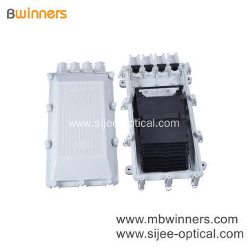 48 Cores IP68 Horizontal Type Outdoor Optical Fiber Joint Box