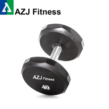 40 LB  Urethane Hex Dumbbell