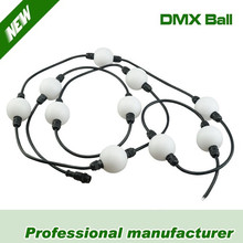 RGB DMX Pixel 3D LED Ball String Light
