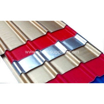 Prime Color Coated Anti-Freeze Heatproof MgO Roofing Sheets