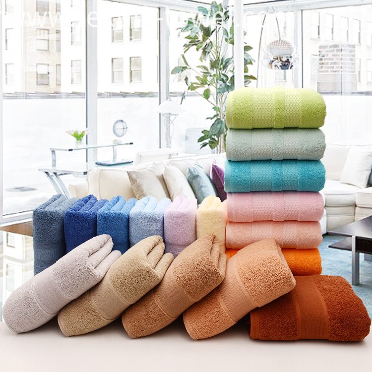 Plain Bath Towels