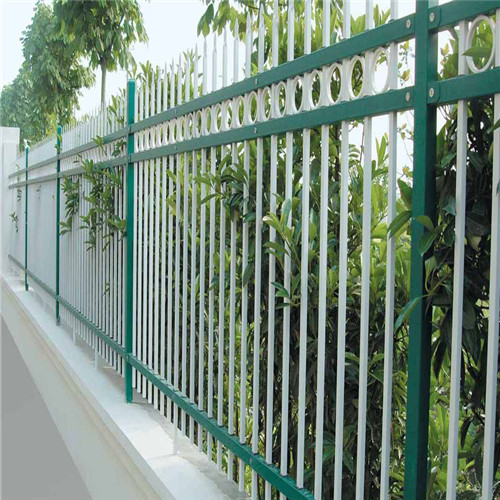 galvanized Steel Picket Metal Wrought Iron Fence design