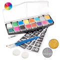 Non-toxic flag face paint stick for sports fan