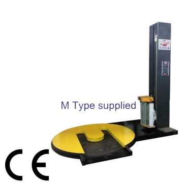 M type turntable pallet stretch film wrapper