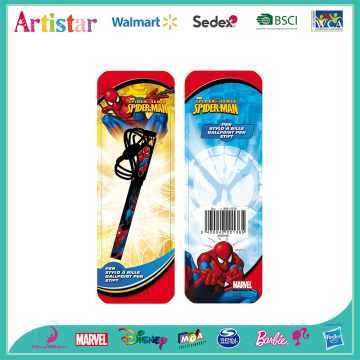 Spiderman hanging pen