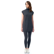 Bottom price for Women'S Cashmere Polos Funnel Neck Tunic supply to Andorra Factory