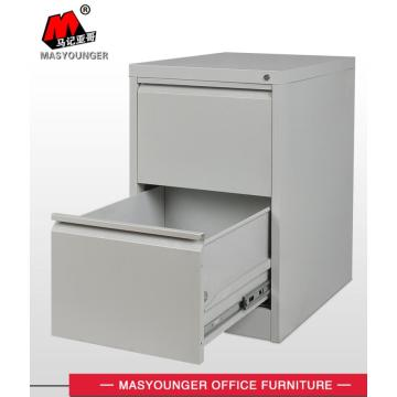 Steel 2 drawer filing cabinet