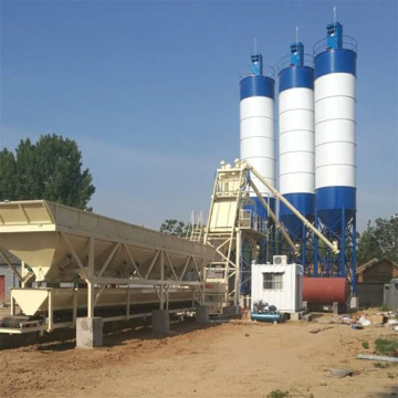 Different types concrete mixing plant price list producer