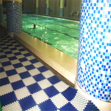 Interlocking Tiles Wet Area Mat Swimming Pool Flooring