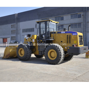 SEM655D Perfect Wheel Loader for Coal Yard Quarrying
