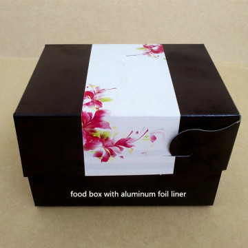 Street food chicken aluminium box take away box