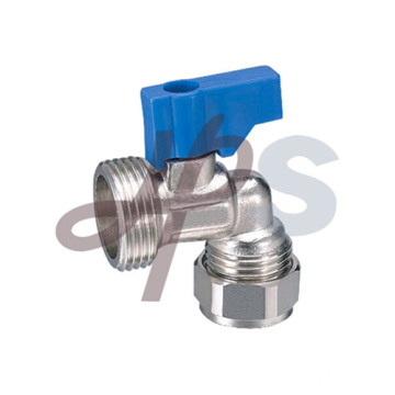 Brass isolating ball valve