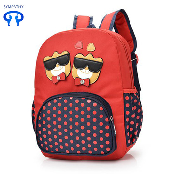 Children primary school backpack boy